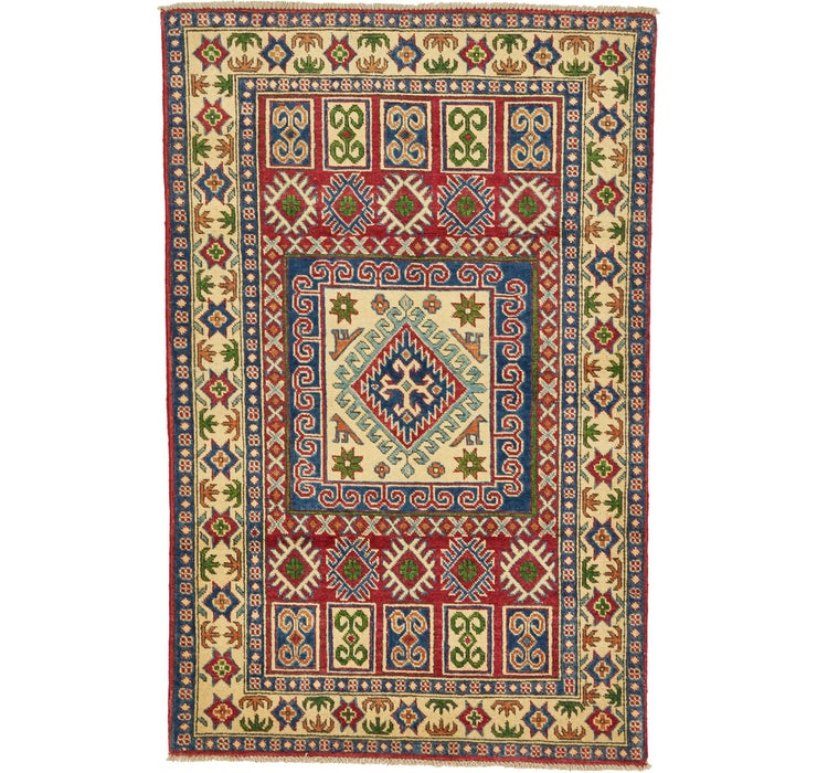 100cm x 152cm Kazak Oriental Rug