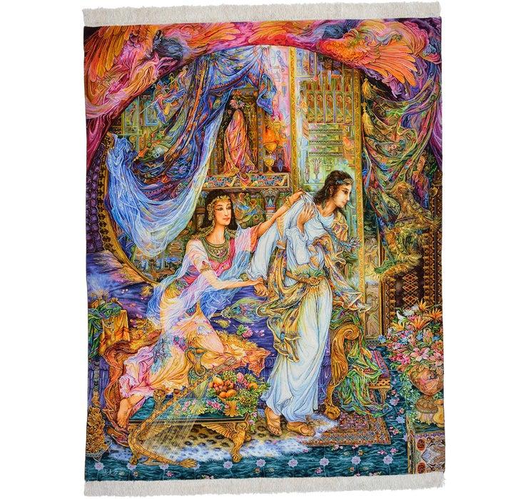 145cm x 185cm Tabriz Persian Rug