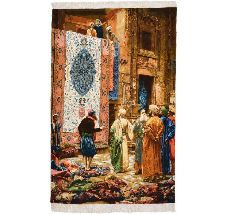 122cm x 193cm Tabriz Persian Rug