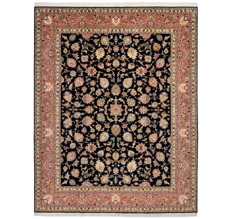 208cm x 265cm Tabriz Persian Rug