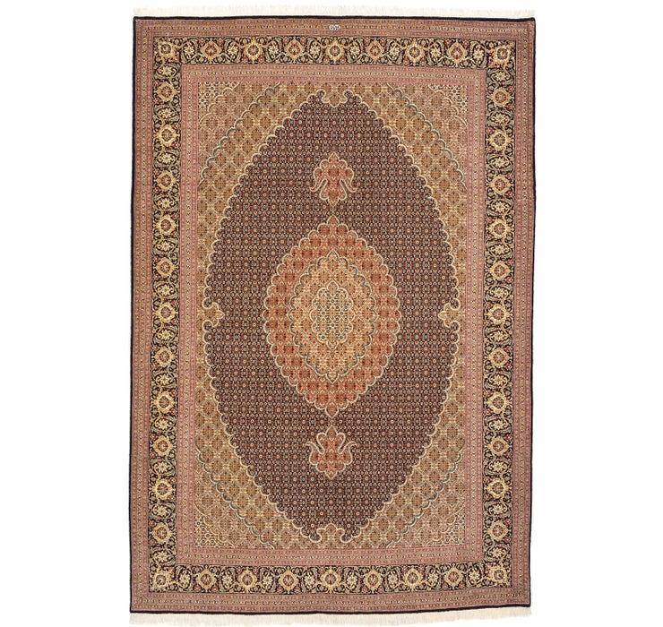 205cm x 305cm Tabriz Persian Rug