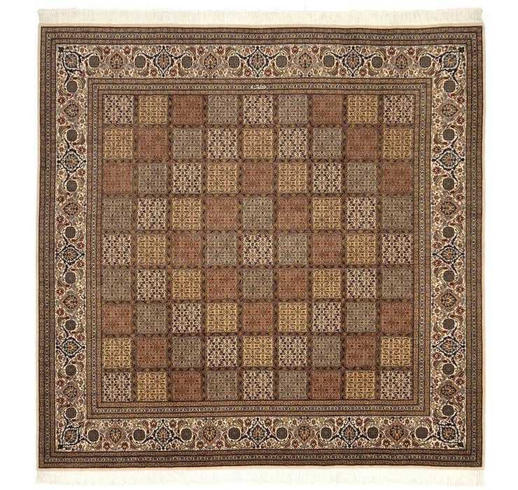 200cm x 205cm Tabriz Persian Square Rug