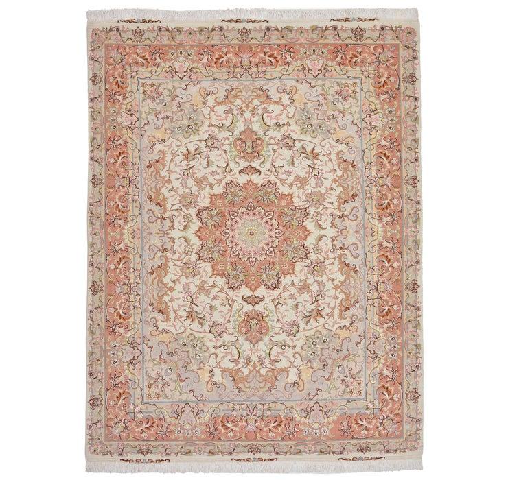 145cm x 195cm Tabriz Persian Rug