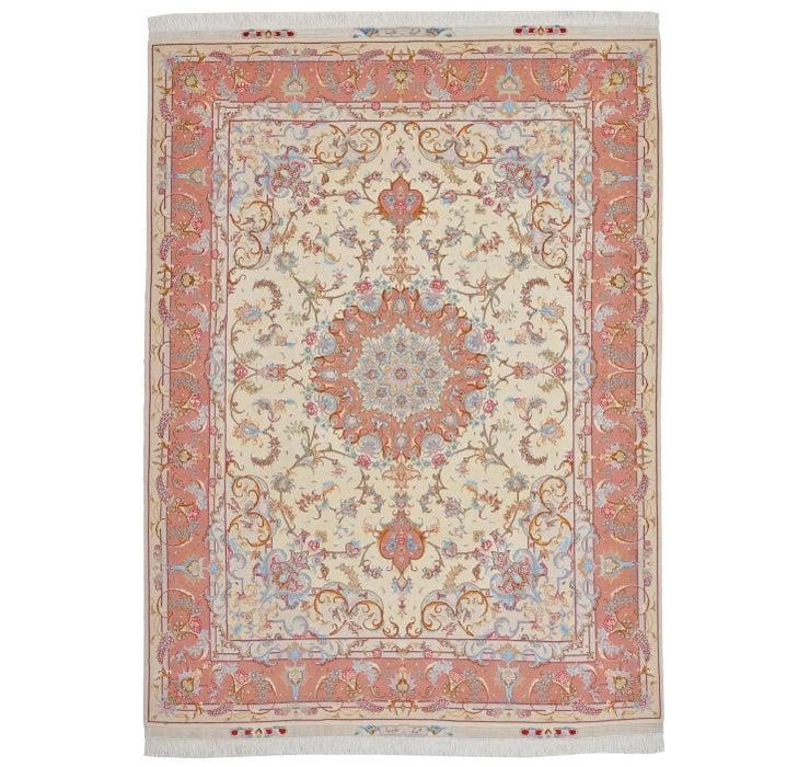 155cm x 205cm Tabriz Persian Rug
