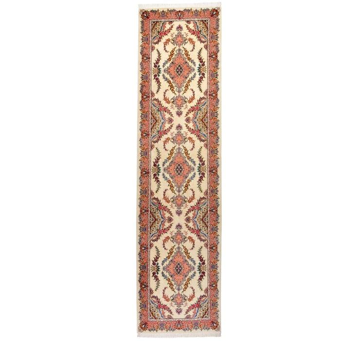 85cm x 340cm Tabriz Persian Runner Rug