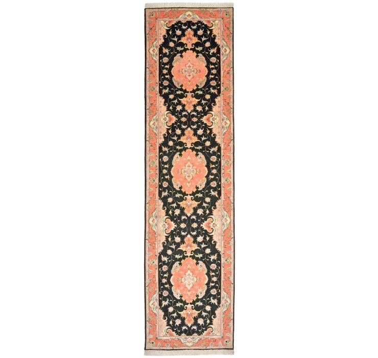 85cm x 330cm Tabriz Persian Runner Rug