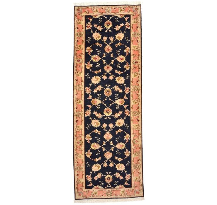 80cm x 218cm Tabriz Persian Runner Rug