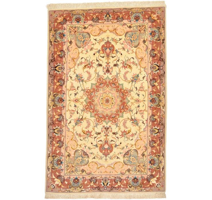 3' 5 x 5' 3 Tabriz Persian Rug