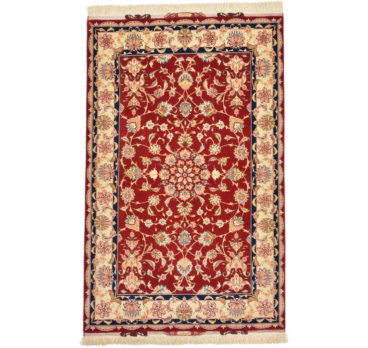 100cm x 155cm Tabriz Persian Rug