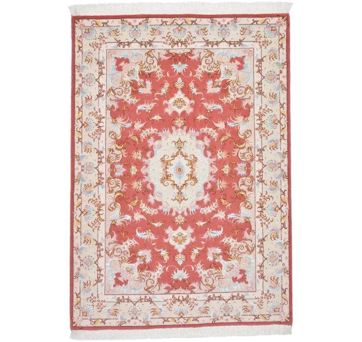 107cm x 155cm Tabriz Persian Rug
