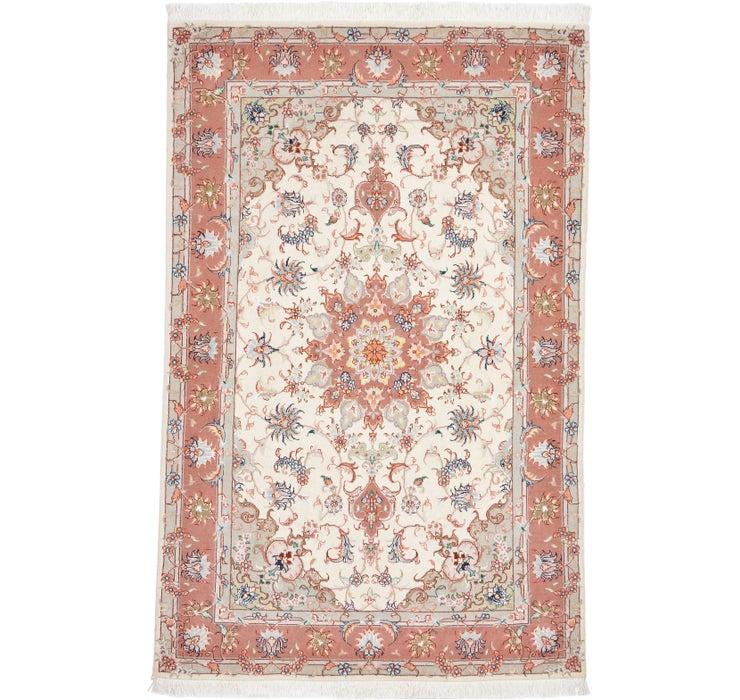 105cm x 157cm Tabriz Persian Rug