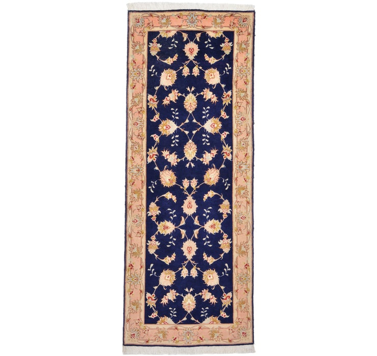 80cm x 205cm Tabriz Persian Runner Rug