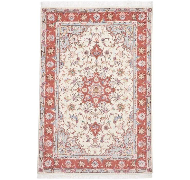 100cm x 152cm Tabriz Persian Rug