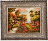 2' x 2' 7 Tabriz Persian Square Rug thumbnail