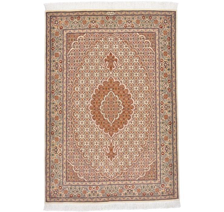 3' 5 x 4' 11 Tabriz Persian Rug