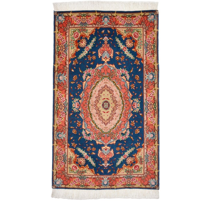2' 4 x 3' 11 Tabriz Persian Rug