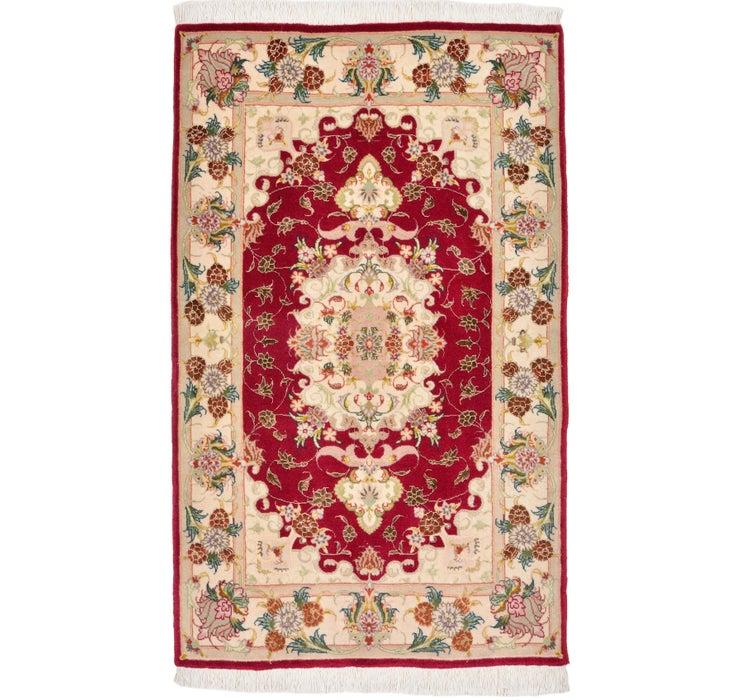 70cm x 117cm Tabriz Persian Rug