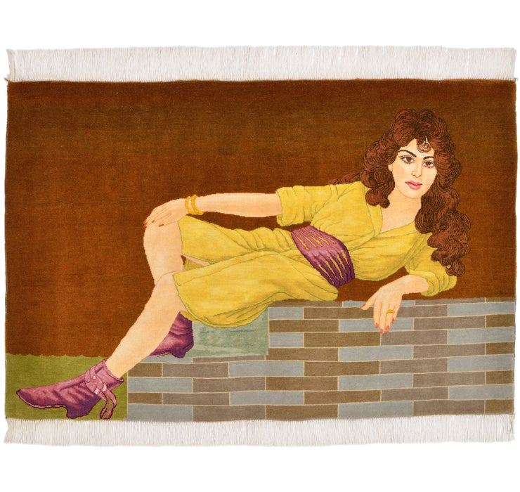 65cm x 95cm Tabriz Persian Rug