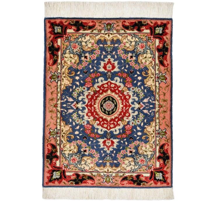 60cm x 80cm Tabriz Persian Square Rug