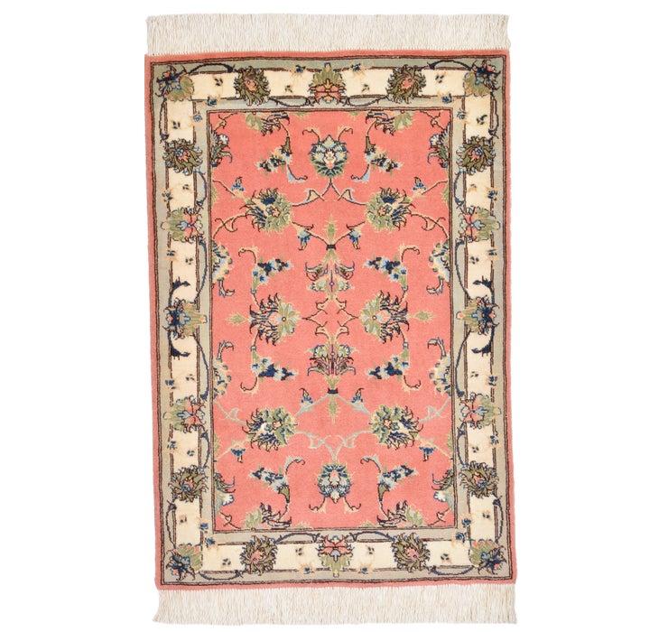 58cm x 85cm Tabriz Persian Rug