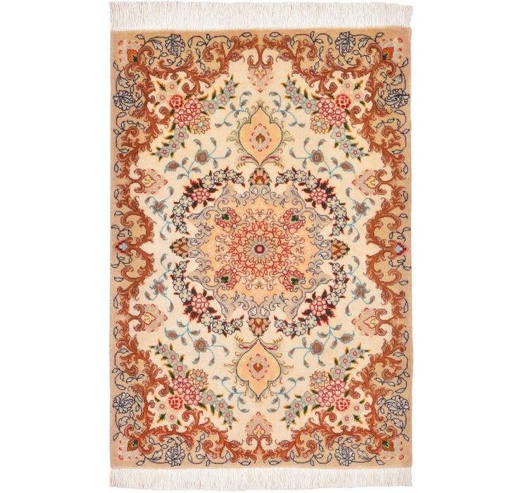 60cm x 90cm Tabriz Persian Rug