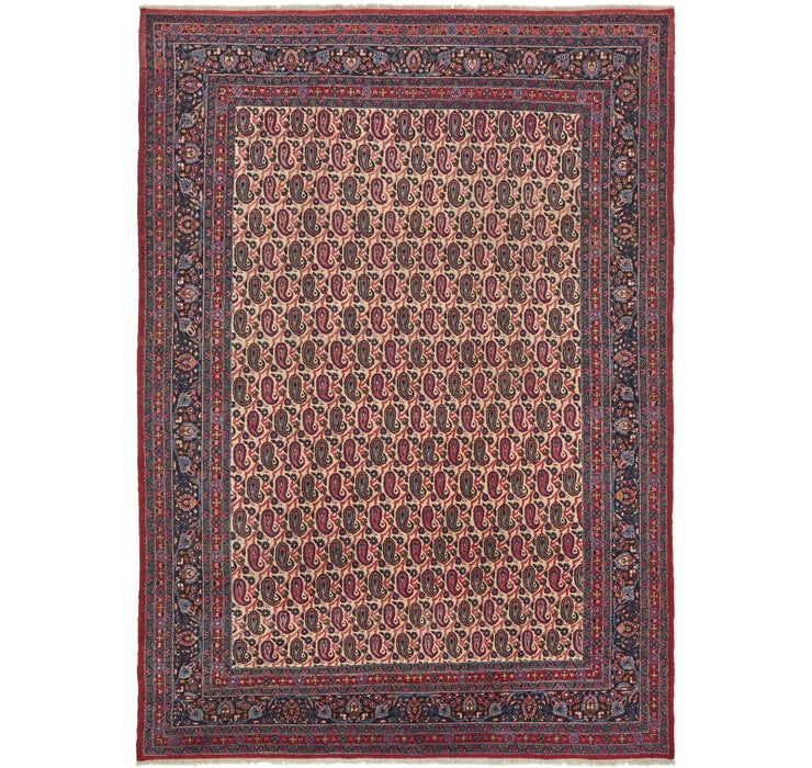 265cm x 365cm Mashad Persian Rug