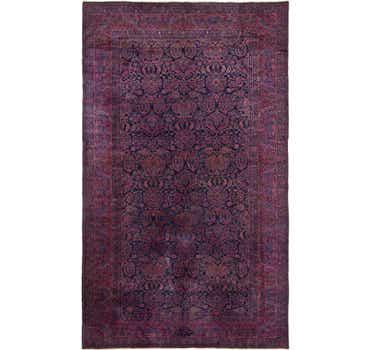 9' 10 x 16' Sarough Persian Rug