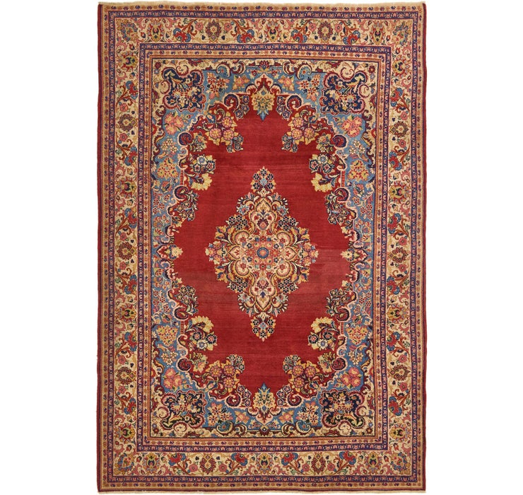 213cm x 305cm Sarough Persian Rug