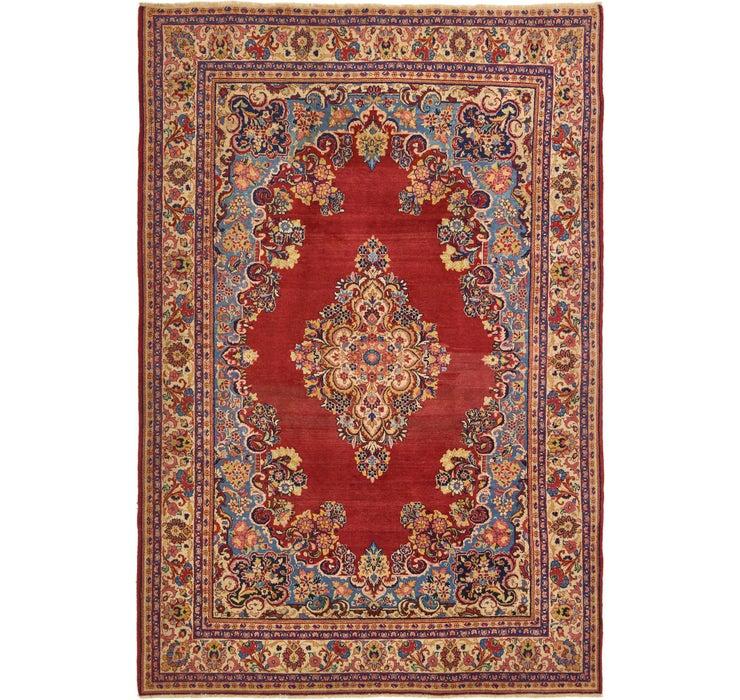 7' x 10' Sarough Persian Rug