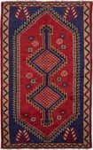 4' 7 x 7' 9 Shiraz Persian Rug thumbnail