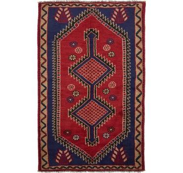 4' 7 x 7' 9 Shiraz Persian Rug main image