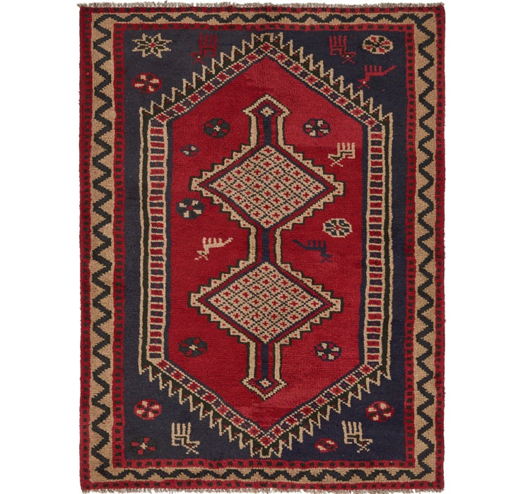 5' x 6' 5 Shiraz Persian Rug