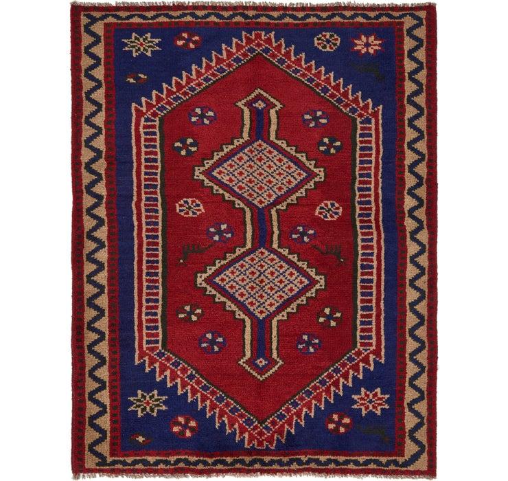 152cm x 198cm Shiraz Persian Rug