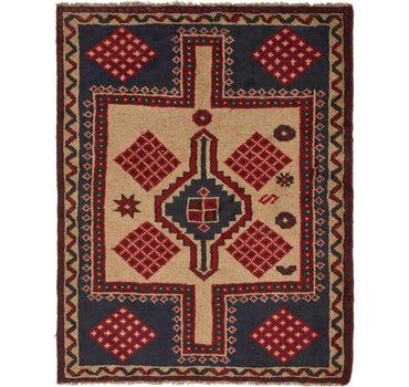 4' 10 x 6' 2 Shiraz Persian Rug main image