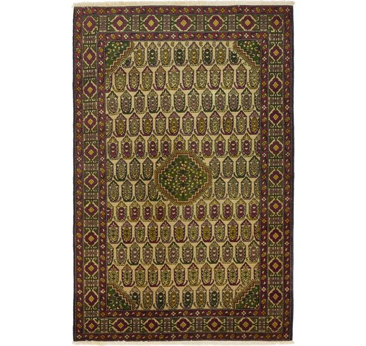 135cm x 205cm Kazak Oriental Rug