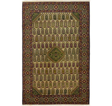 4' 5 x 6' 9 Kazak Oriental Rug main image