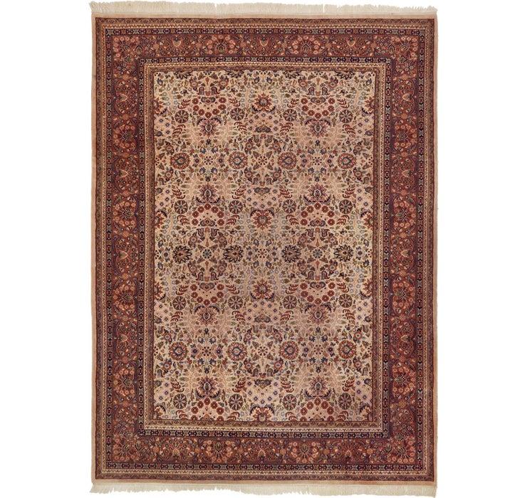 Image of 245cm x 330cm Indo Tabriz Oriental Rug