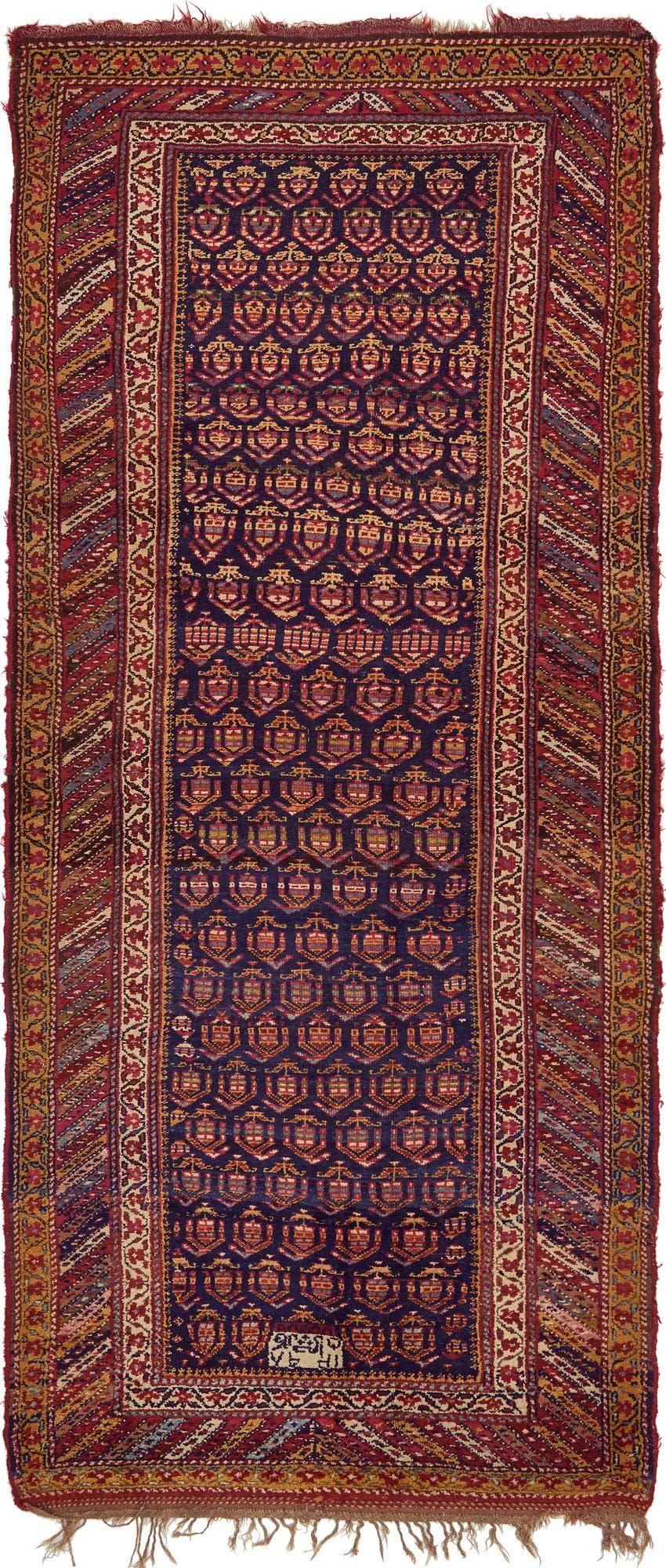 5' x 11' 4 Shiraz Persian Runner Rug main image