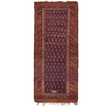 Image of 5' x 11' 4 Shiraz Persian Runner Rug