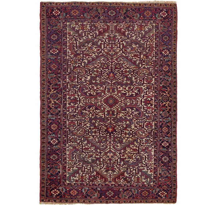 195cm x 287cm Heriz Persian Rug