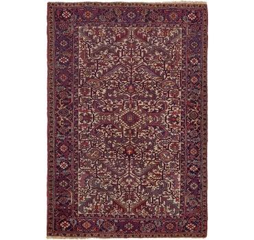 6' 5 x 9' 5 Heriz Persian Rug main image