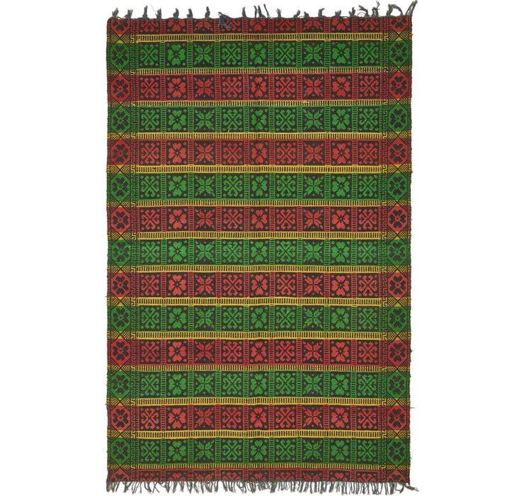 Image of 5' 5 x 8' 2 Moroccan Rug