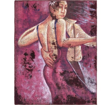 3' 3 x 4' Ultra Vintage Persian Square Rug main image