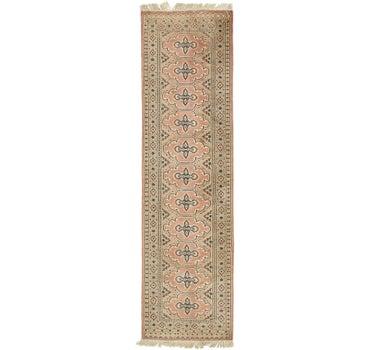 2' 9 x 9' 7 Bokhara Oriental Runner Rug main image