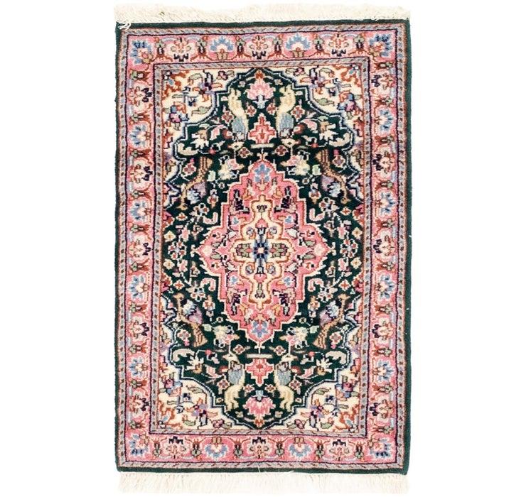 2' x 3' 3 Kashmir Oriental Rug