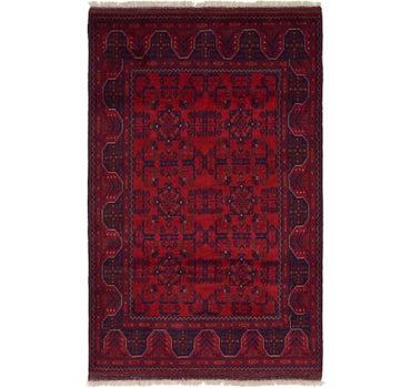4' 2 x 6' 8 Khal Mohammadi Oriental Rug main image