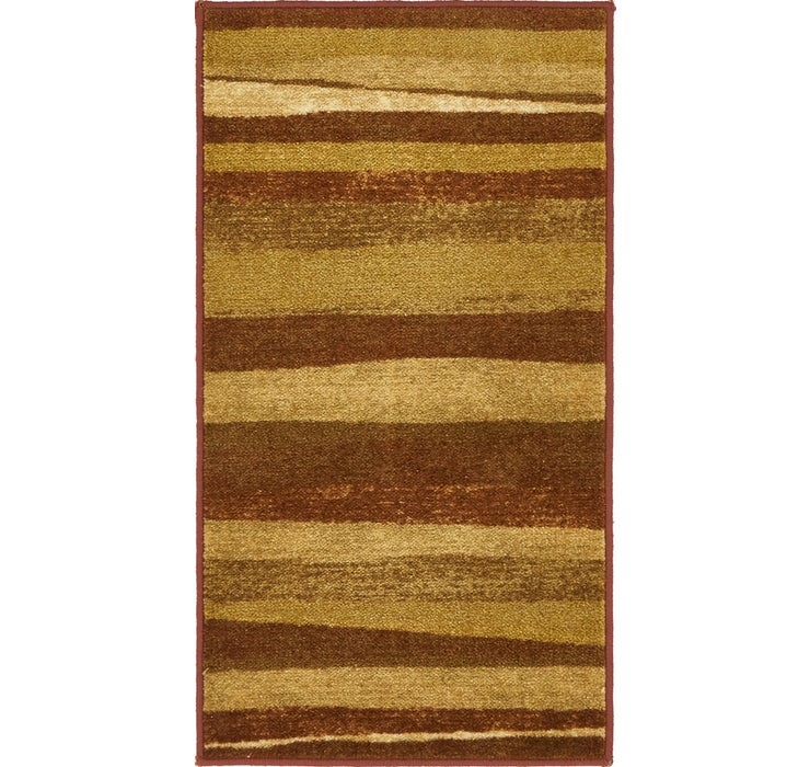 1' 6 x 3' Reproduction Gabbeh Rug