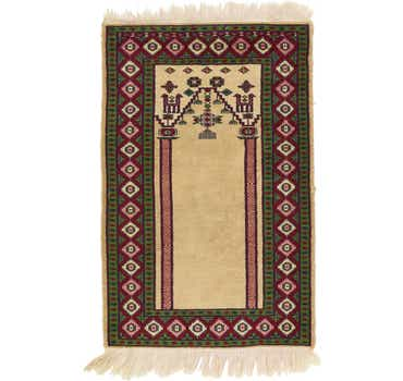 2' 1 x 3' 2 Lahour Oriental Rug