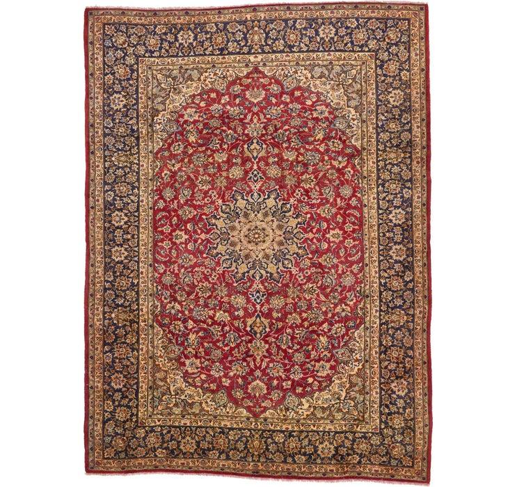 295cm x 395cm Isfahan Persian Rug