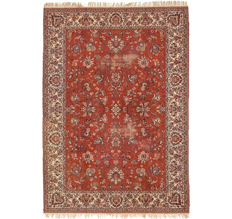 8' x 11' 5 Tabriz Design Rug